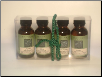 SET OF 4 50ml MASSAGE OILS