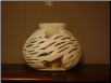 WHITE MONSTEREA DIFFUSER - Comes with 2 candles